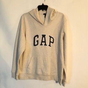 Gap Women's Beige Hoodie Size XL